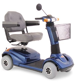 Model Shown - Pride Go Go Scooter - (image hosted by specialmobility.com)